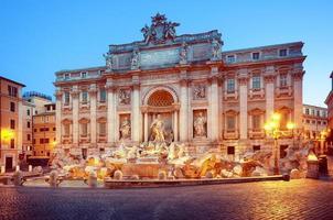 fontana di trevi, roma - italia, foto