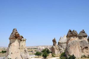valle dell'amore nel parco nazionale di goreme. cappadocia, turchia