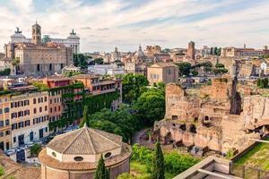 vecchio paesaggio urbano di roma