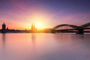 silhouette della città di Colonia
