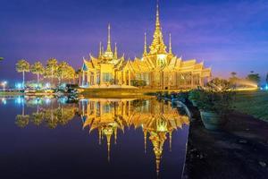 tempio in riflessione