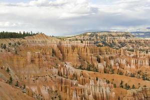 tempesta di pioggia di bryce canyon foto