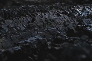 primo piano di una formazione rocciosa foto