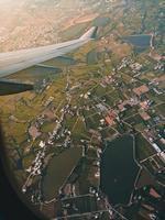 vista da un aereo
