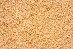 muro di stucco arancione