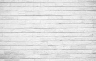 struttura del muro di mattoni bianchi foto