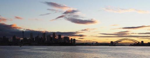 vista panoramica di sydney, australia