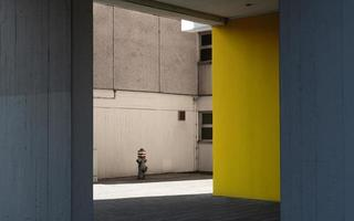 scena cittadina minimalista