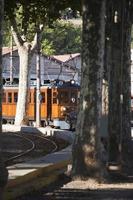 treno vintage da palma a soller