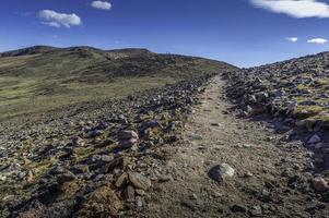 vista del sentiero di picco della flora
