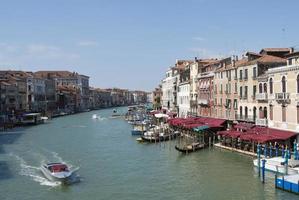 vista sul canal grande di venezia