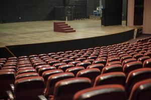 palcoscenico del teatro