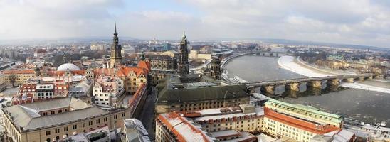 panorama di Dresda