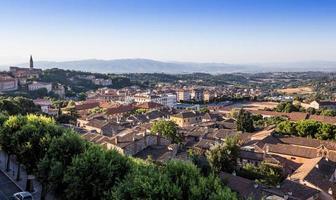 centro storico di perugia, umbria, italia