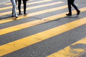 concetto di traffico urbano foto