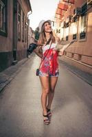 bella donna turistica