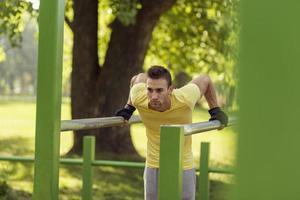 allenamento all'aperto