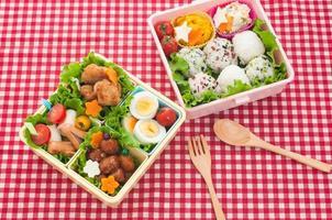 pranzo colorato giapponese