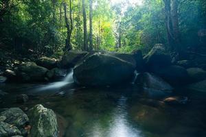 scenario naturale alle cascate di khlong pla kang