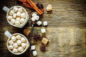 cacao con marshmallow