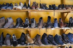 negozio di stivali foto