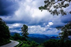 strada panoramica cresta blu