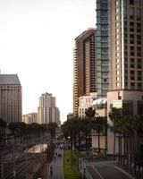 paesaggio urbano di san diego, california, usa