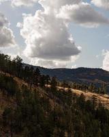 paesaggio di montagna in arizona, usa