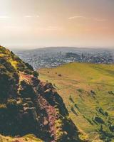 Edimburgo vista dalla sede di Arthur