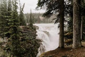 paesaggio selvaggio in canada