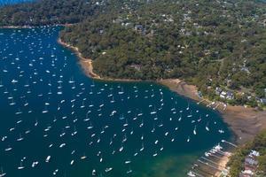 vista aerea di pittwater