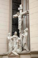 crocifissione, basilica dell'assunzione della vergine maria