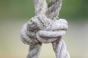 nodo di corda foto