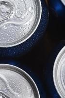 lattina di alluminio bagnato