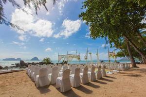 matrimonio in spiaggia foto