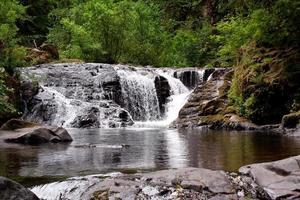 Sweet Creek cade in Oregon foto