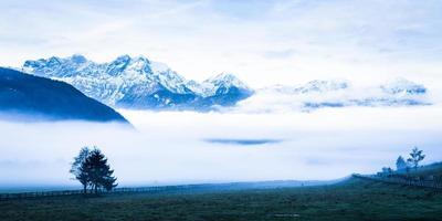 Alpi europee foto