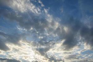 sfondo del cielo con le nuvole