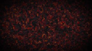 fumo o nebbia ardente, illustrazione 3d atmosferica