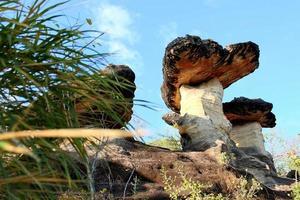 pila di pietra in thailandia