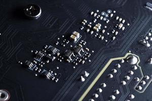 scheda a circuito elettronico, primo piano