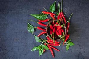 peperoni rossi di Caienna