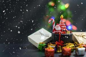 sfondo natalizio per la stagione dell'avvento