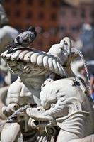 classica statua barocca, roma, italia