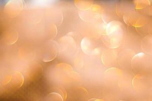 natale sfondo dorato incandescente
