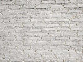 sfondo muro di mattoni bianchi