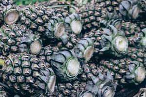 sfondo di ananas hawaiano foto