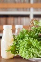 lattuga con condimento
