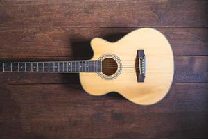 strumento chitarra acustica foto