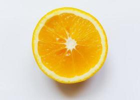 fetta di frutta arancione foto